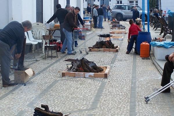 Fiesta Las Candelas Jabugo