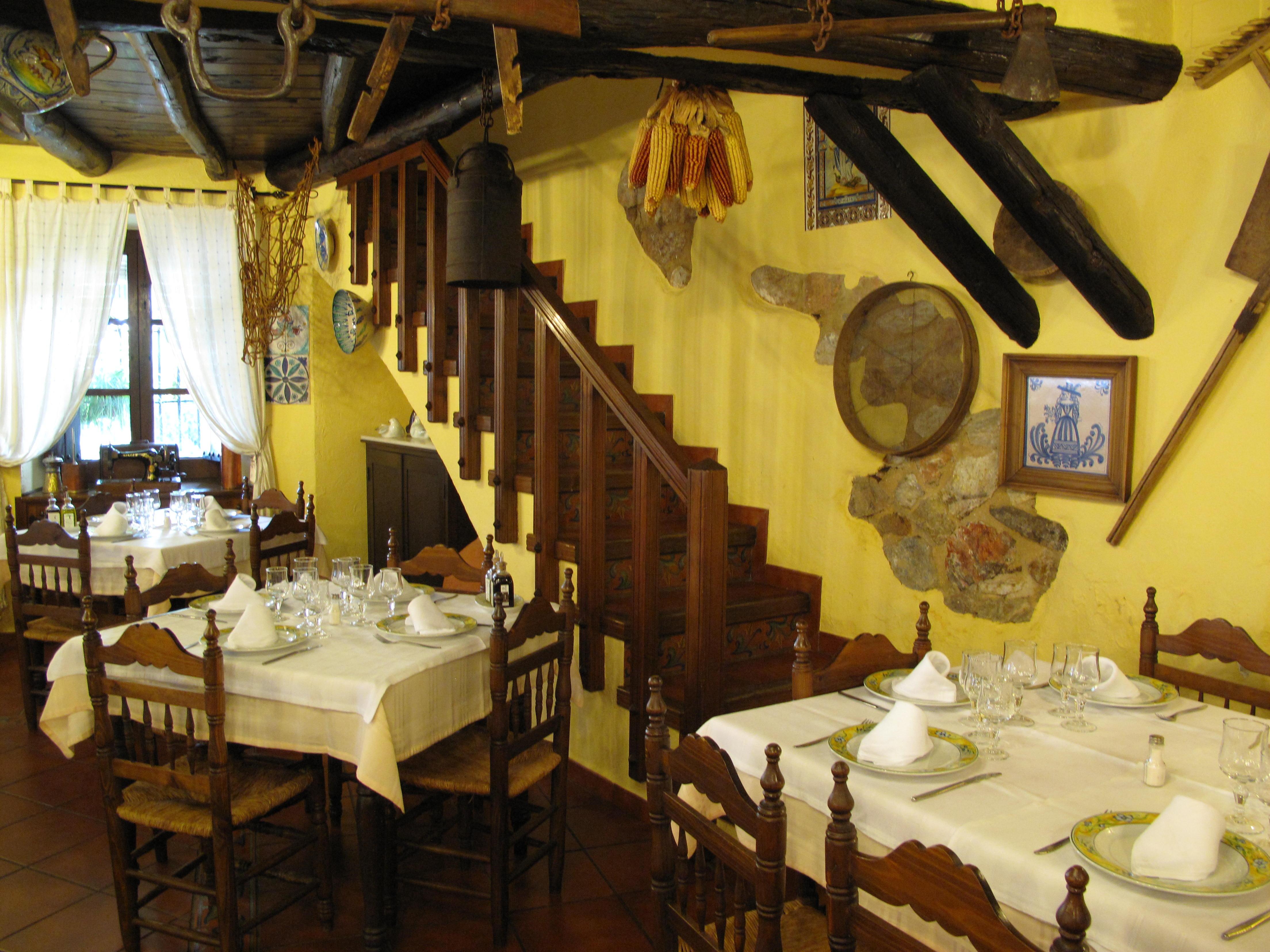 Restaurante La Serrana Aracena turismo Huelva 09