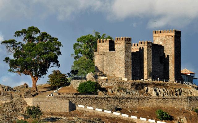 castillo cortegana sierra de huelva