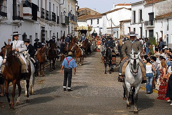 Romeria San Antonio Cortegana