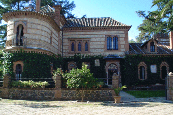 Palacio Monte San Miguel Aracena Aníbal González
