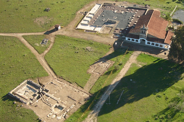 Ciudad romana de Turóbriga Aroche