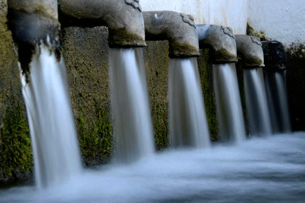 Fuente 12 caños Fuenteheridos Sierra de Aracena