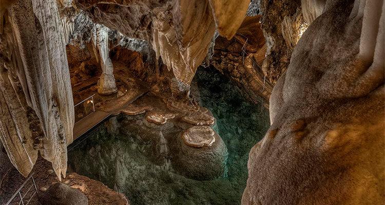 Gruta de las Maravillas Aracena Sala La Esmeralda