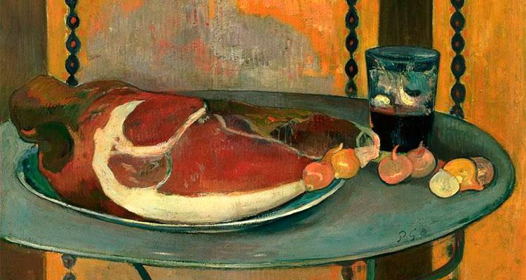 'El Jamón', cuadro de Paul Gaugain.