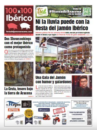 Periodico 100x100 Iberico Feria del Jamón Aracena