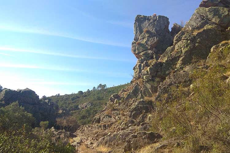 Sendero Santa Ana Risco de Levante